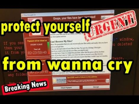 Don't Wanna Cry? Here's How You Stop WannaCry Ransomware!