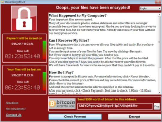 WannaCry Ransomware Hits 200,00+ Systems in More Than 99 Countries! [Updated]
