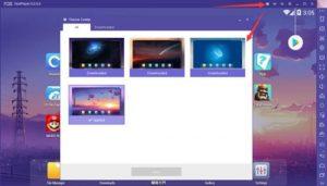 Nox App Player Theme Center
