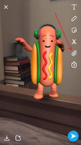 Sarahah Snapchat