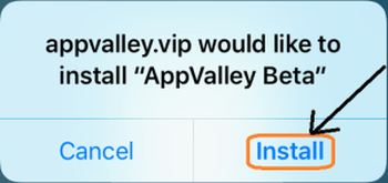 Install AppValley VIP