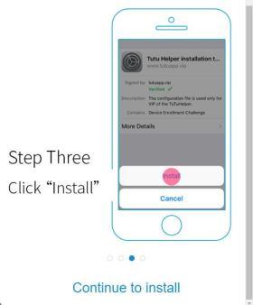 Install TuTuApp VIP Redeem Code Free for iOS