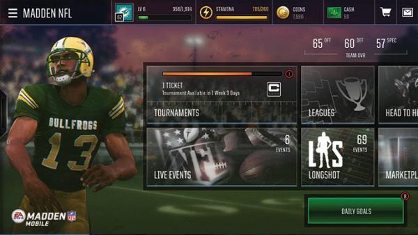 Madden Mobile NFL 18 Hack