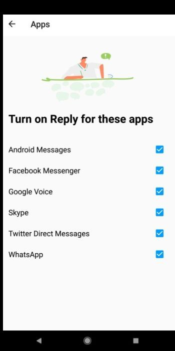 Google Reply APp