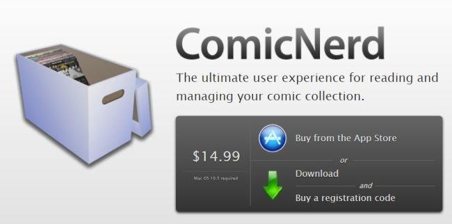 ComicNerd - Mac Comic Book Reader