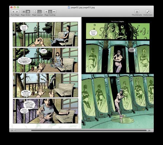 Simple Comic Book Reader for Mac