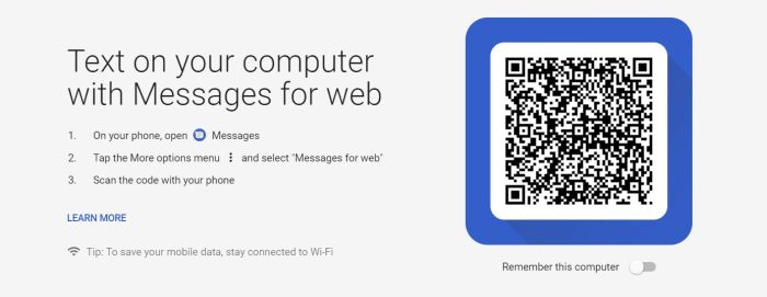 How to Use or Setup Messages for Web