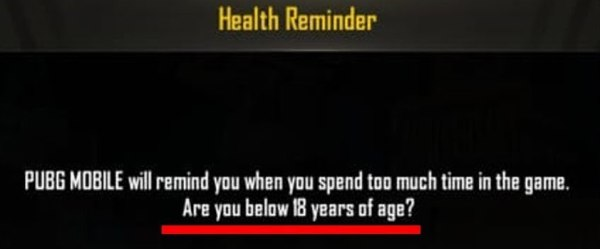 How to Remove PUBG Health Reminder