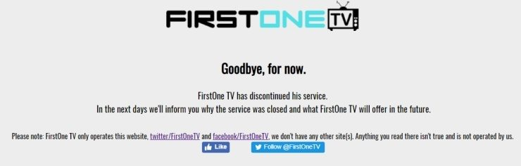 FirstOneTV Not Working? Try These 3 FirstOne TV Alternatives!