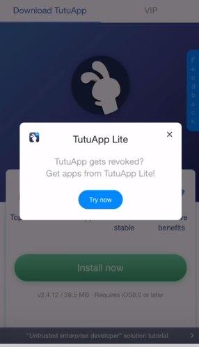 TutuApp Lite iOS 14 FREE Download! Tutu Lite APK!