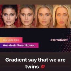 Gradient You Look Like Celebrity App