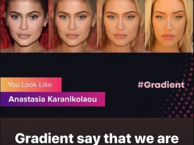 Gradient You Look Like Celebrity App