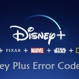 Disney Plus Error Code List
