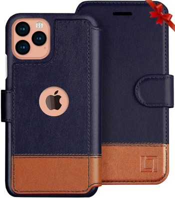 LUPA iPhone 11 Pro Max Leather cum Wallet Case