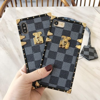 Luxury Leather cum Square iPhone Case from TLCase for iPhone 11 Pro Max, iPhone 11 Pro and iPhone 11