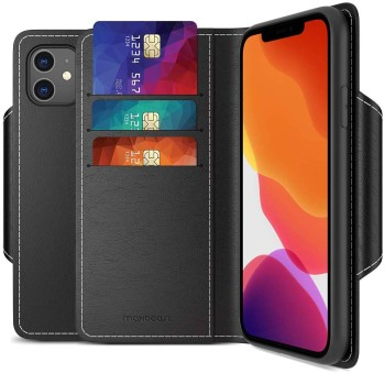 Maxboost mWallet Designed Case for iPhone 11 with Card Holder