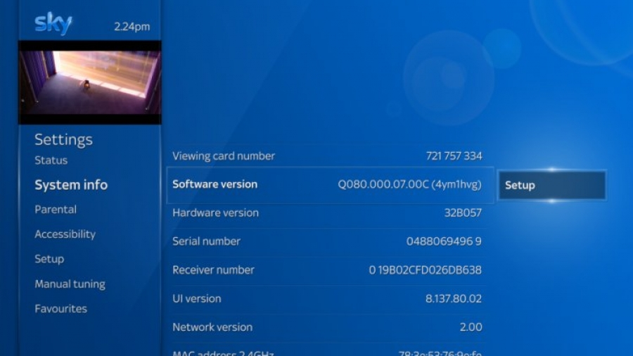 How to Update Sky Q Box Software