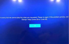 Disney Plus Error Code 43