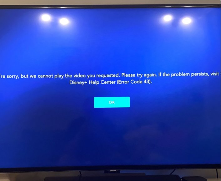 What is Disney Plus Error Code 43 & How to Deal With It!