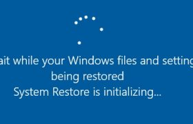 System Restore Windows 10