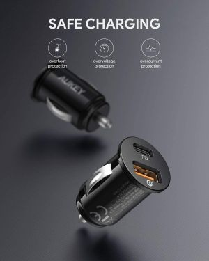 AUKEY Car Charger for iPhone 12 Pro Max