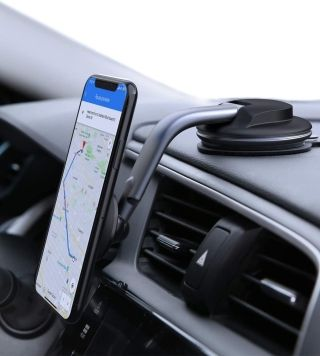 AUKEY iPhone 12 Pro Car Mount with 360 Degree Rotation