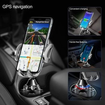 Best Car Cup Holder Phone Mount from TOPGO for iPhone 12, 12 Pro, 12 Pro Max and 12 Mini