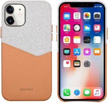 Bigphilo iPhone 12 Mini Wallet Case