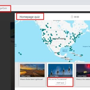Bing Homepage quiz