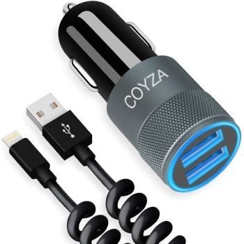 Coyza Fast Car Charger Adapter for iPhone 12 Pro