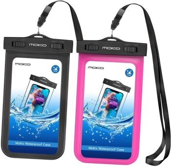 MoKo Waterproof Phone Pouch for iPhone 12 Mini
