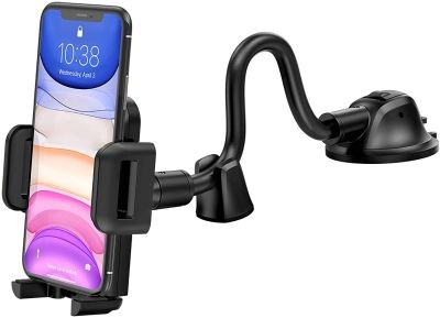 Mpow iPhone 12 Pro Max Car Mount Phone Holder with Long Arm