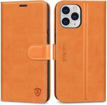 SHIELDON iPhone 12 Pro Max Wallet Cases