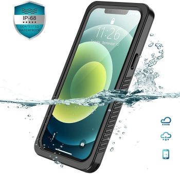 Vapesoon iPhone 12 and iPhone 12 Pro Waterproof Case