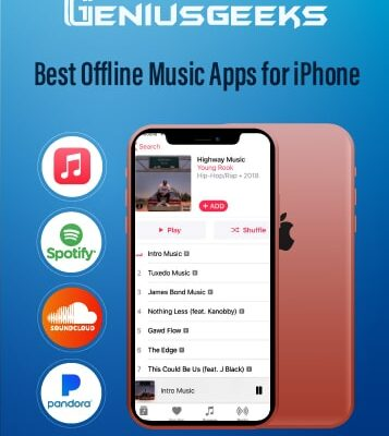 10 Best Offline Music Apps for iPhone Free!