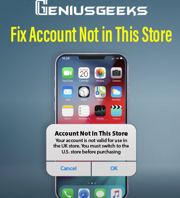 "Here's How to Fix ""Account Not in this Store"" Error on iPhone!"