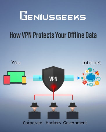 Here's How VPN Protects your Offline Data!
