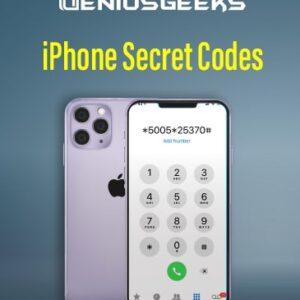 Secret Codes on iPhone