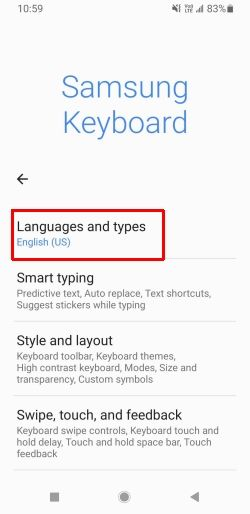 How to Change Keyboard in Galaxy Note 20