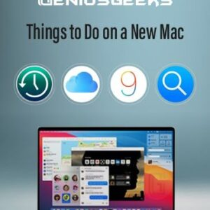 Things to do on a Macbook