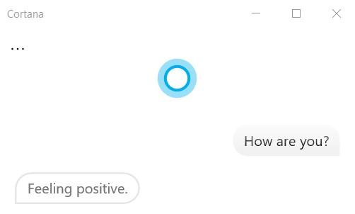 Ask Cortona to Get Help in Windows 10
