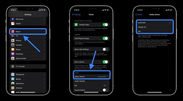 How to enable Spatial Audio in iOS 15