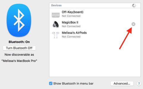 how to disconnect Bluetooth devices on Mac