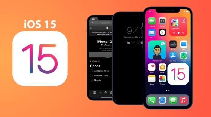 iOS 15 Safari and Memoji