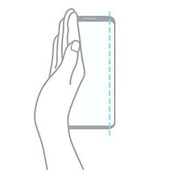 How to Take Screenshot on Samsung Galaxy M12 Using Palm Swipe Method