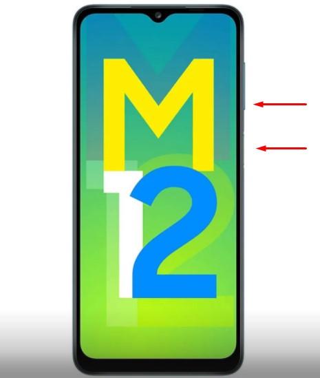 How to Take Screenshot on Samsung Galaxy M12