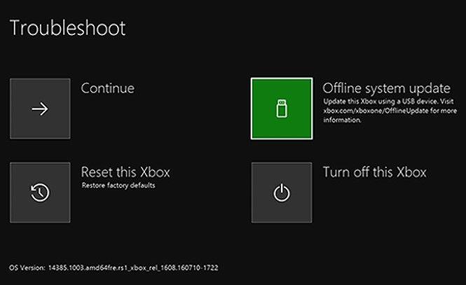 How to update Xbox One offline