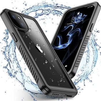 Spidercase iPhone 13 Waterproof Case with Touch Screen Protector