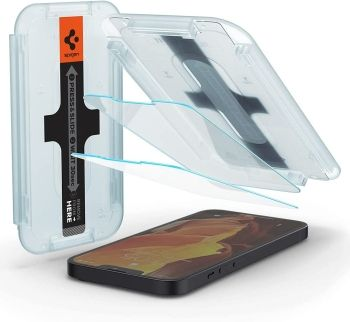 Spigen Tempered Glass Screen Protector for iPhone 13 and iPhone 13 Pro