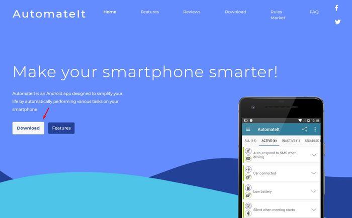 download AutomateIt app